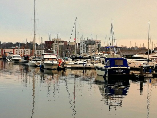 More Waterfront reflections. by judithdeacon