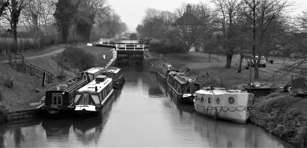 Grey Day Canal by ajisaac