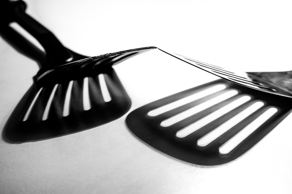 (Day 177) - Spatula Shadows by cjphoto