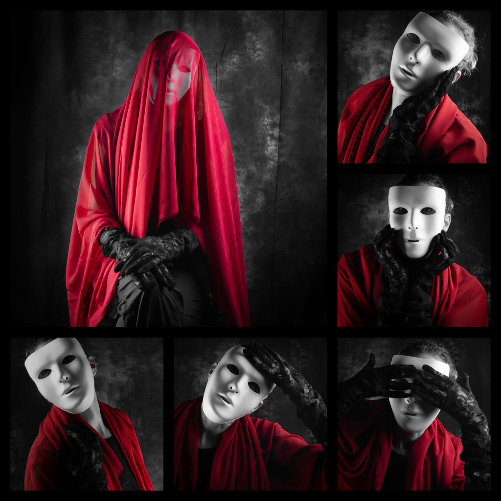 the lady in red by northy