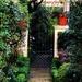 Entrance to a secret garden, historic district, Charleston, SC
