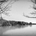 Lake Estes bw