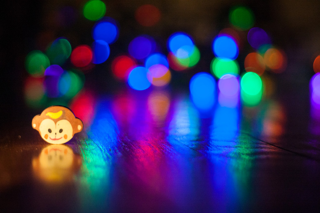 Monkeying around with bokeh by egad