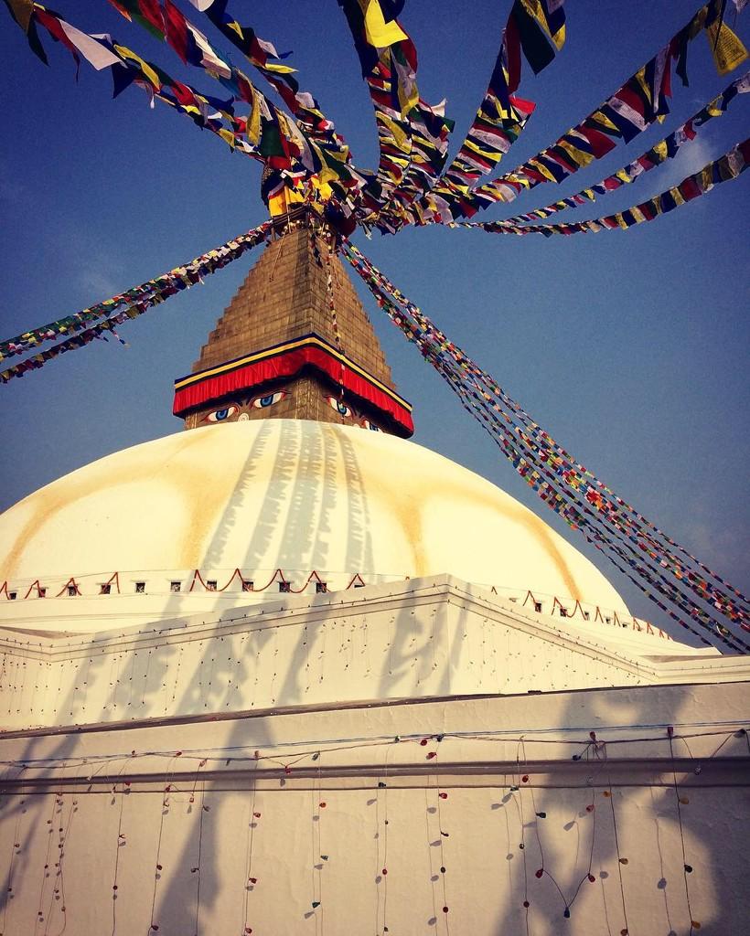 Bhoudanath Stupa by peterdegraaff