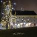 Holiday lights at Everal Barn