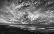 11th Dec 2018 - Black and White South View Clouds
