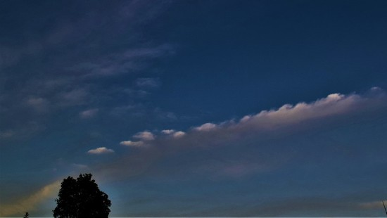 Beautiful Evening Clouds ~ by happysnaps