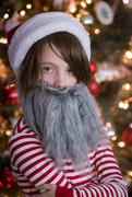 9th Dec 2018 - Serious Santa