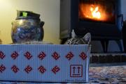 10th Dec 2018 - a box near the heat.What else?