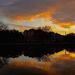 Sunset at Colonial Lake, Charleston, SC