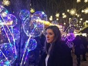 11th Dec 2018 - Alix and the blue bubbles.