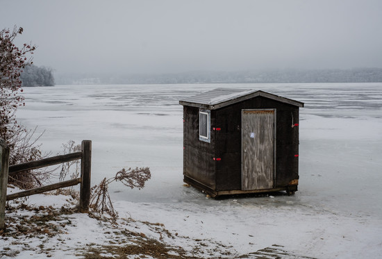Little House on the Ice by tosee