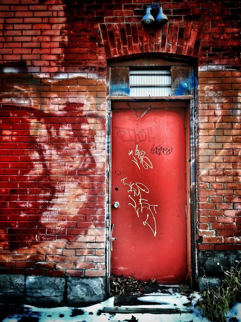 the unused red door by adi314