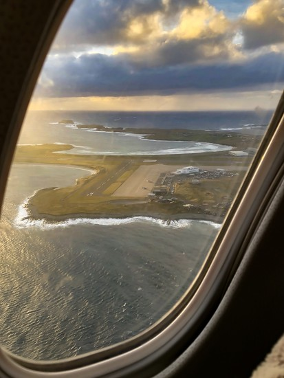 Sumburgh Departure. by lifeat60degrees