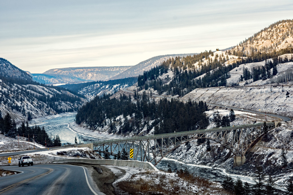 Fraser River Crossing From the Other Side by farmreporter