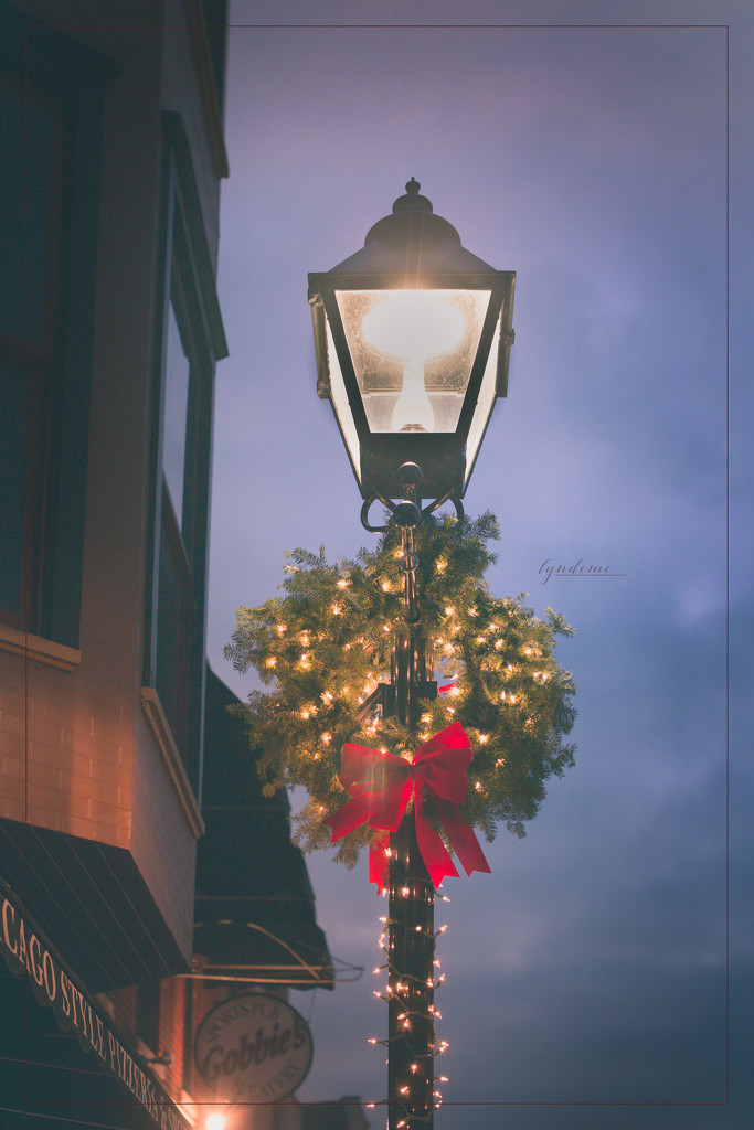 Street Lamp Adorned by lyndemc