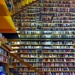 Bookstore Reflections in Color