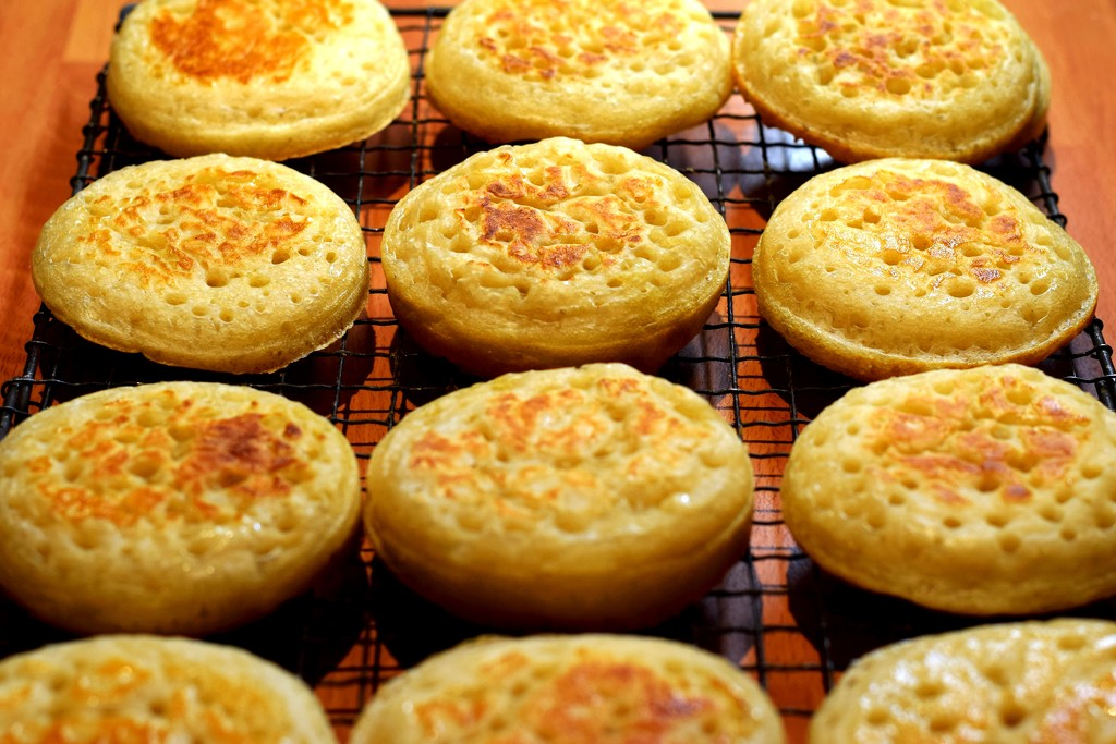 sourdough crumpets by christophercox