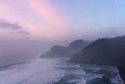 15th Dec 2018 - Foggy Lighthouse Sunset