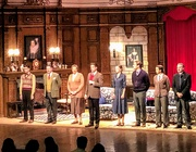 8th Dec 2018 - The Mousetrap cast at The Jamshed Bhabha Theatre