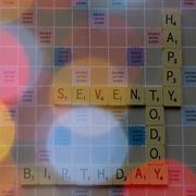 16th Dec 2018 - Happy Birthday Scrabble