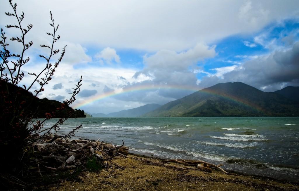 Rainbow arch by kiwinanna