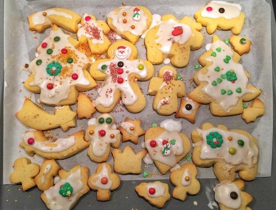Christmas cookies.  by cocobella