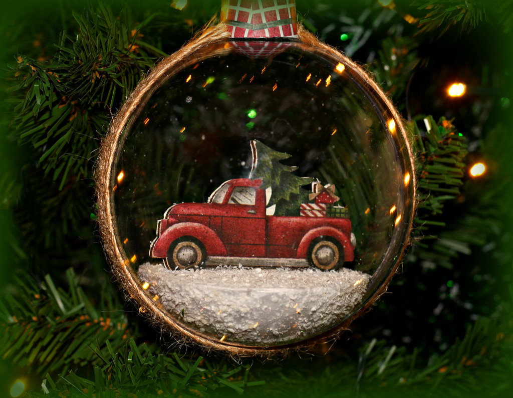 Truck Bauble.  by wendyfrost