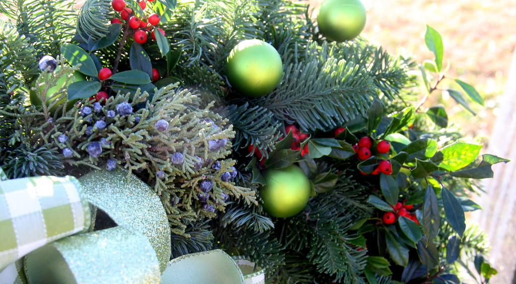 Wreaths to take to the Cemeteries by calm