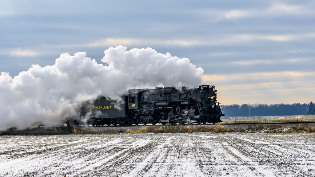 Pere Marquette 1225 ~The Real Polar Express by dridsdale