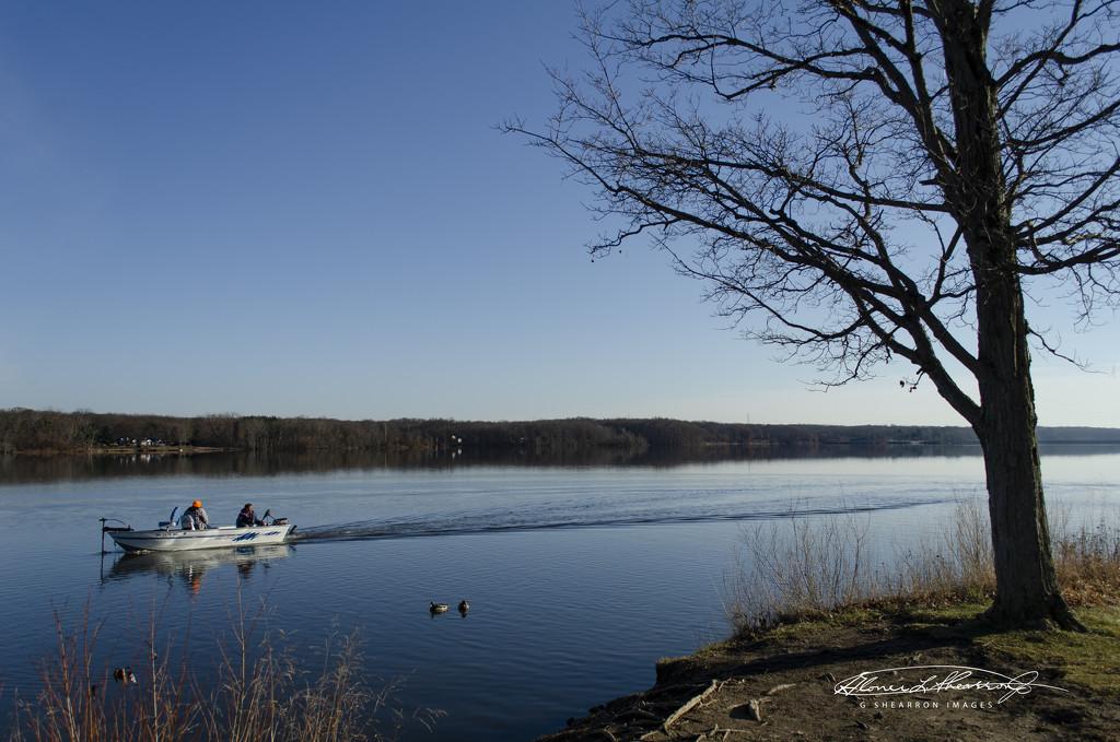 Fishing on the reservoir by ggshearron