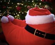 22nd Dec 2018 - Santa Slippers