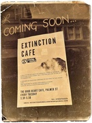 20th Dec 2018 - Extinction Cafe