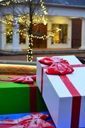 22nd Dec 2018 - Christmas presents @ City Hall