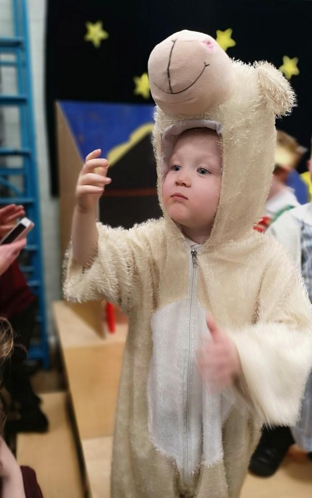 First nativity play as a Grandma by plainjaneandnononsense