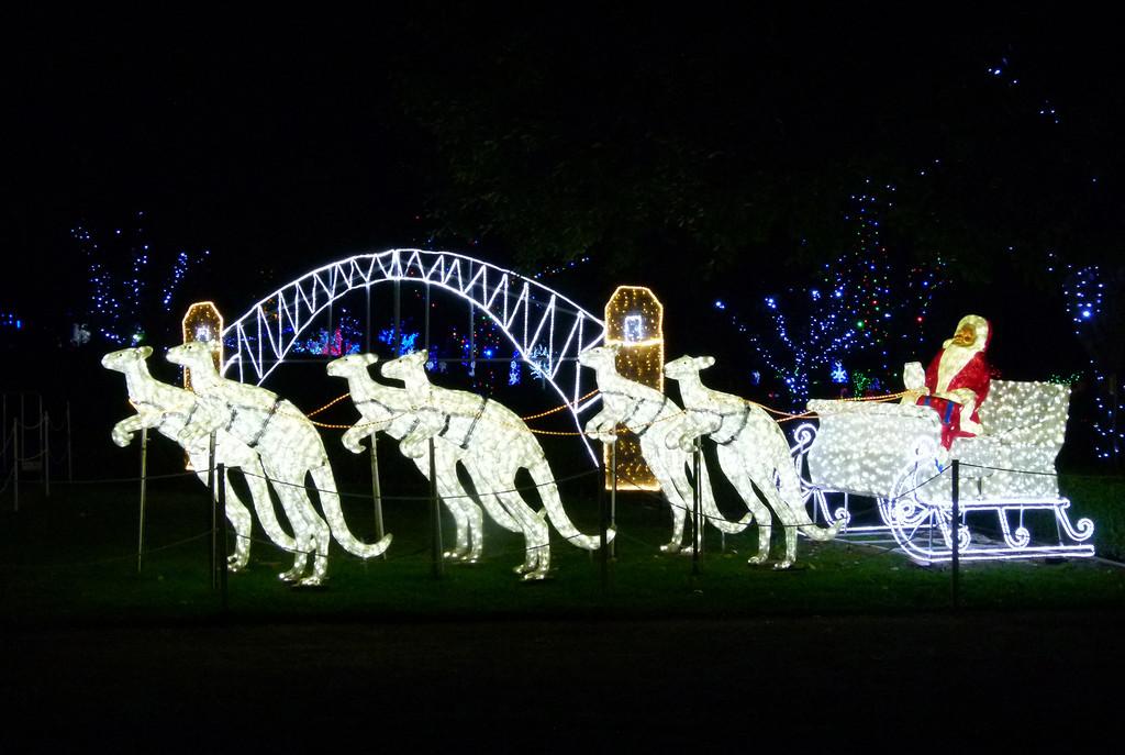 Australian Santa by onewing