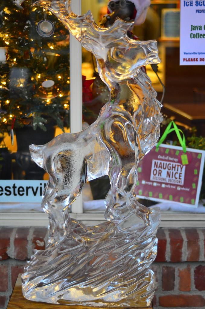 Rudolph frozen in time by ggshearron