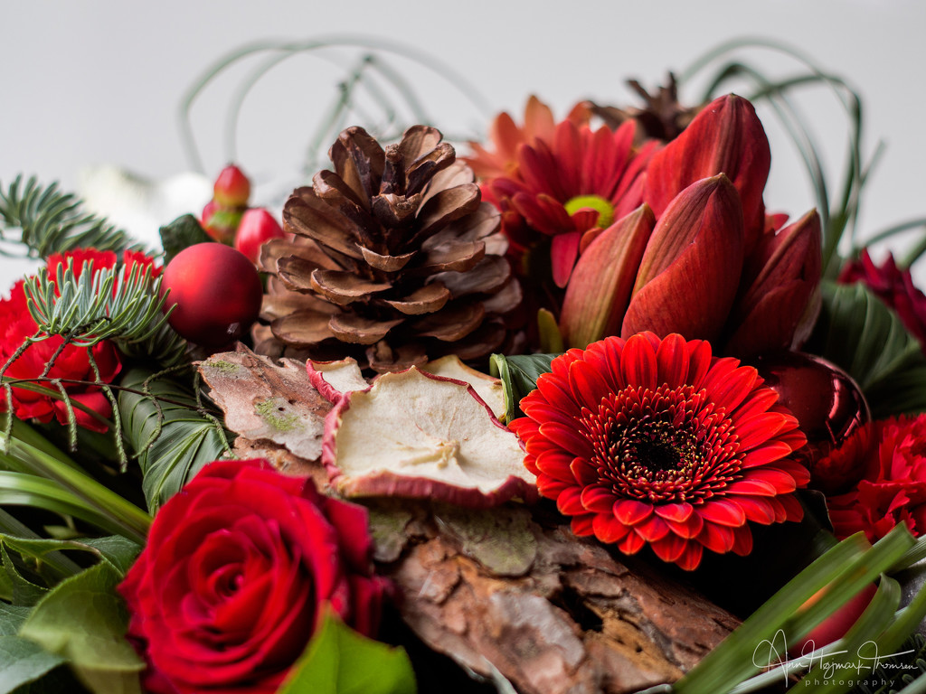 Christmas bouquet by atchoo