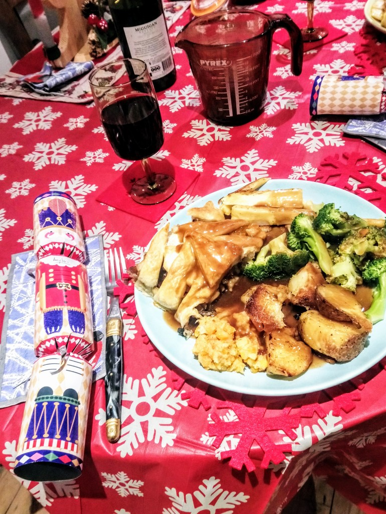Christmas dinner by boxplayer
