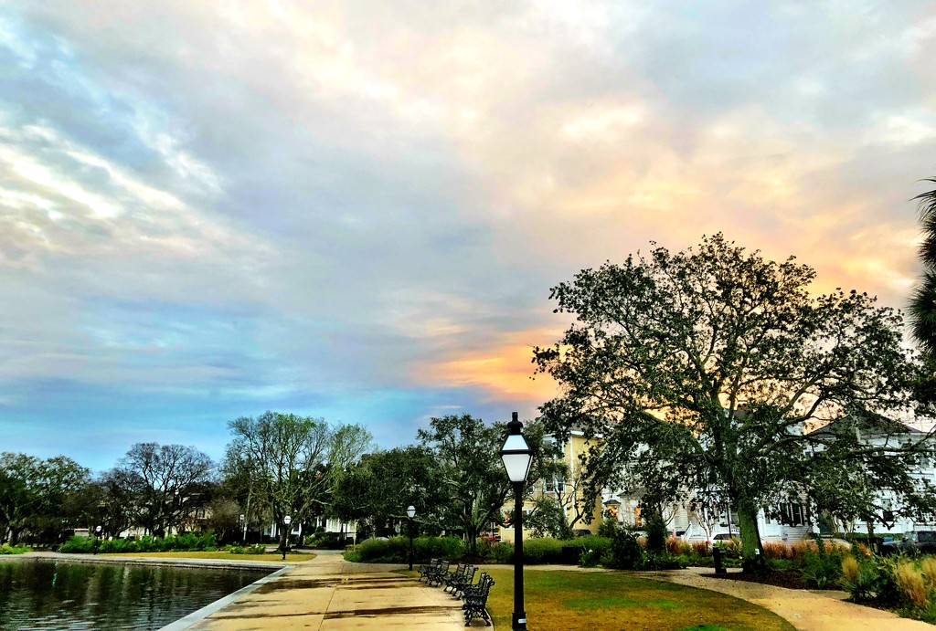 Colonial Lake Park in Charleston, SC by congaree