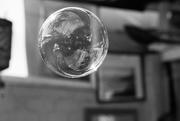 27th Dec 2018 - Black and White bubble