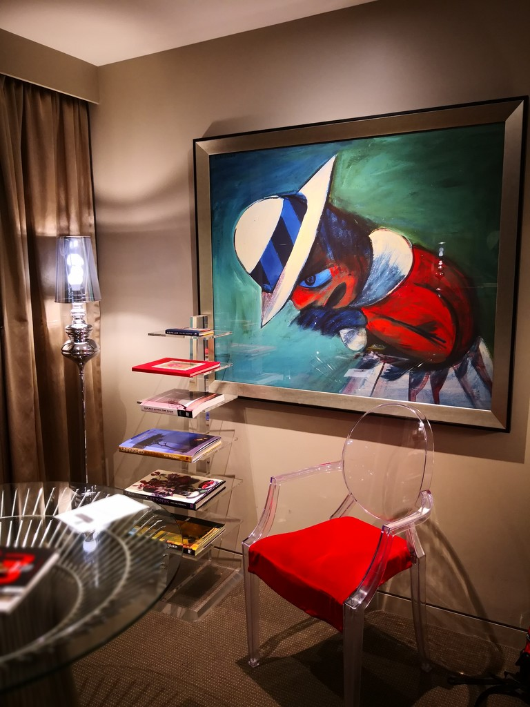 The sitting area - The Blackman - Art Series Hotel by kgolab