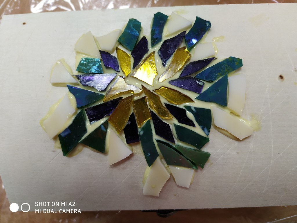 Began Another Mosaic Project by shilohmom
