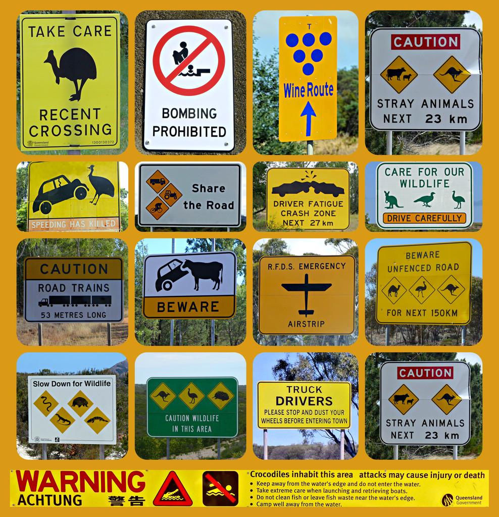 More Australian cautions! by judithdeacon