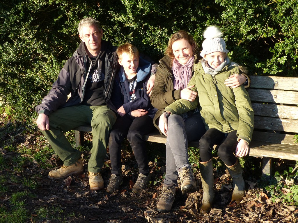 Paul, Oscar, Violaine and Emily by susiemc