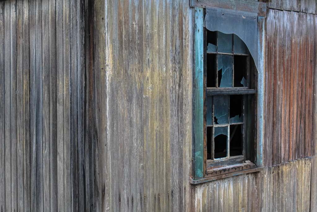 Barn window by mittens