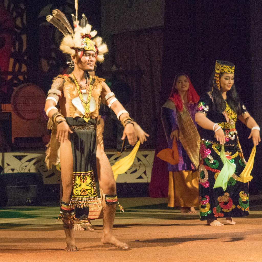 Ethnic dancers by ianjb21