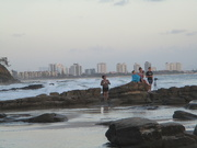 2nd Jan 2019 - Photographers waiting for the Right  shot on Mooloolaba