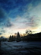 1st Jan 2019 - Parking lot sunrise