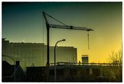 2nd Jan 2019 -  Sint-Niklaas dawn cityscape